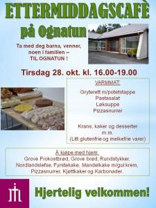 Plakat Ettermiddagskafe 28. okt,ny