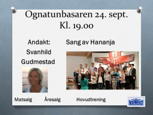 Ognatunbasaren 24. sept. 15