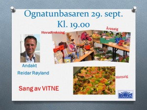 Ognatunbasaren 29. sept. 16