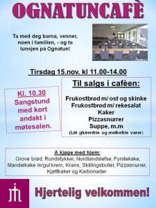 Plakat Ognatunkafe 15. nov. 16