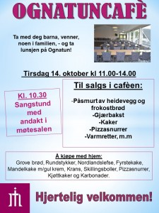 Plakat Ognatunkafe 20. nov. 2018